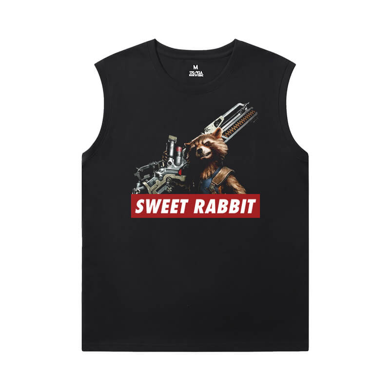 The Avengers Groot Tshirt Marvel Guardians of the Galaxy Sleeveless Shirts For Mens Online