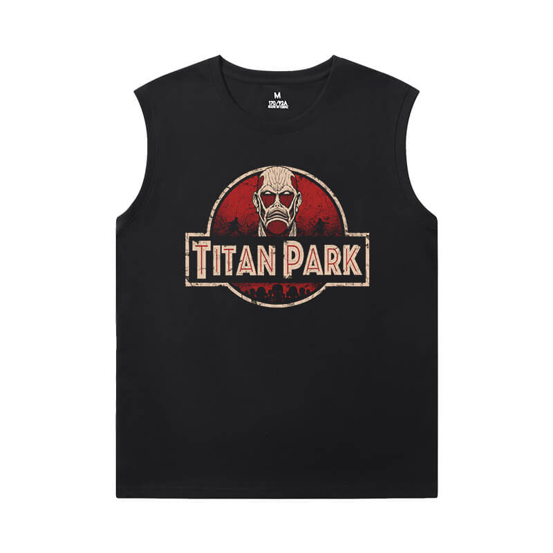 Hot Topic Anime Tshirts Attack on Titan Mens Designer Sleeveless T Shirts