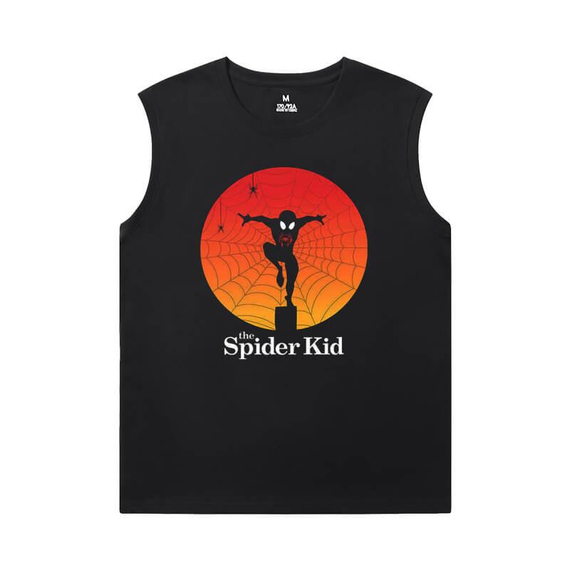 Spiderman Tees Marvel The Avengers Cheap Sleeveless T Shirts