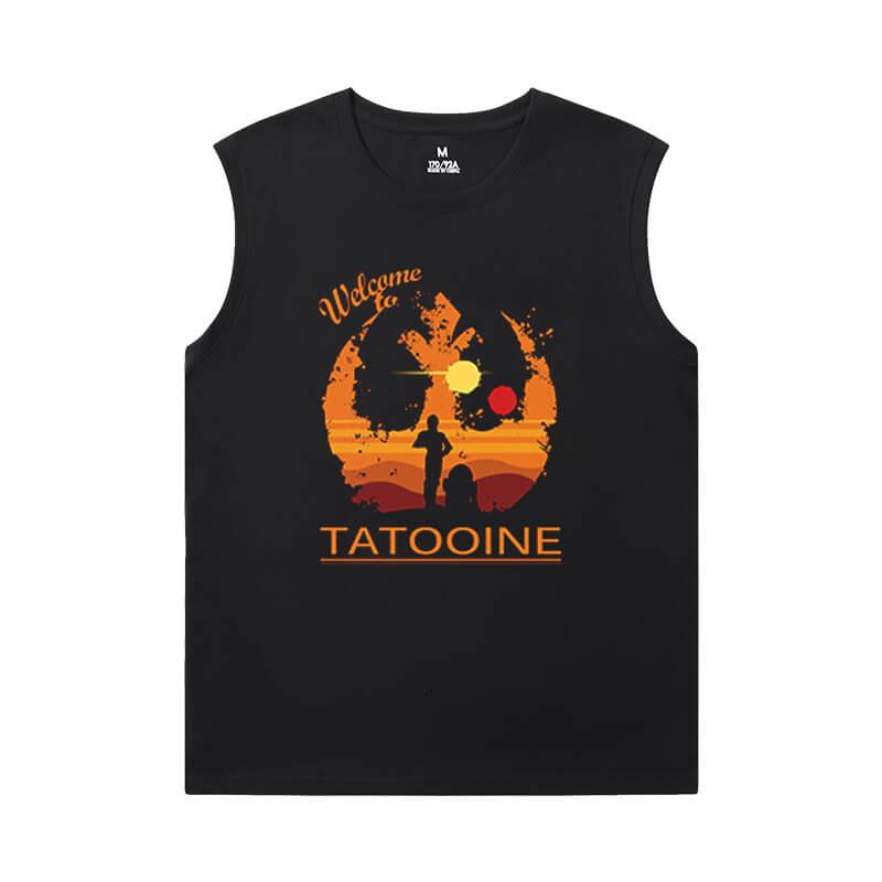 Cool Tshirts Star Wars Sleevless Tshirt For Men
