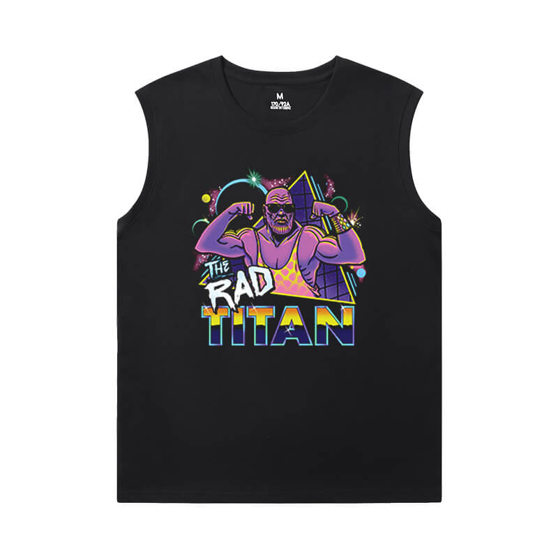 Thanos Cool Sleeveless T Shirts Marvel The Avengers T-Shirts