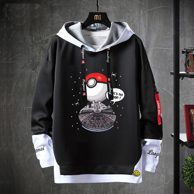 Star Wars Coat Fake Two-Piece Sweatshirt