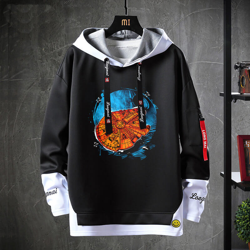 Star Wars Coat Fake Two-Piece Sweatshirts
