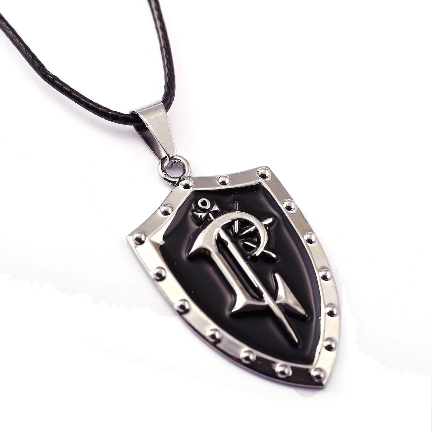 World of Warcraft WOW Alliance Shield Logo Pendant Necklace
